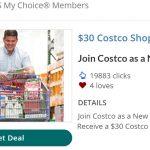 Costco Membership UPS My Choice