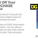 Dollar General iTunes Coupon