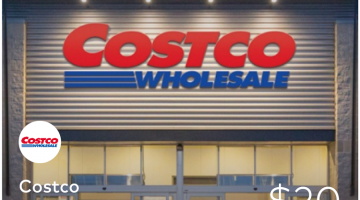 Dosh Costco Membership $20