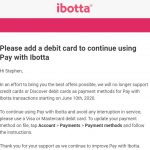 Pay With Ibotta Credit Card