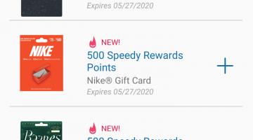 Speedway app gift card deals