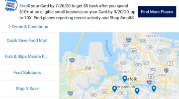 Amex Shop Small 2020