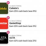 Pay With Ibotta Cabela's GameStop Ulta Beauty