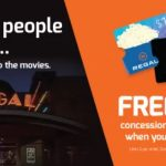 Regal $50 GC $15 Concessions Card