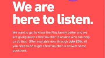 Fluz Free Voucher Survey