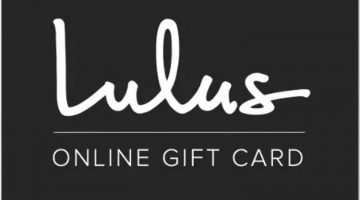Lulus Gift Card