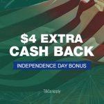 TCB $4 Bonus 07.03.20