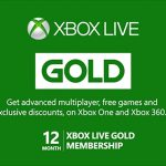 12 Month Xbox Live Gift Card
