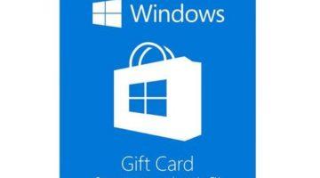 $50 Microsoft Windows Store Gift Card