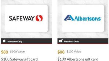 AARP Rewards Safeway Albertsons