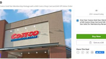Costco Groupon 08.10.20