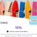 Dosh TOMS 15%