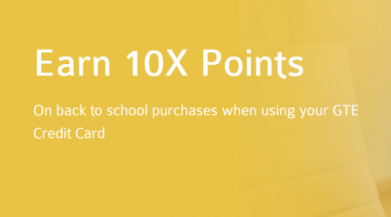 GTE Financial 10x points