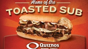Quizno's Gift Card