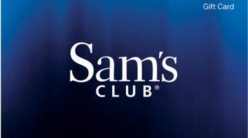 Sam's Club Gift Card