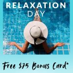 Spa Week promo code RELAXTODAY2020