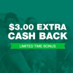 TopCashback $3 Bonus spend $10
