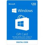 $20 Microsoft Windows Store Gift Card