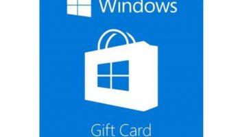 $20 Microsoft Windows Store Gift Card