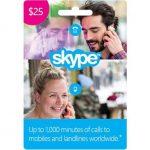 $25 Skype Gift Card