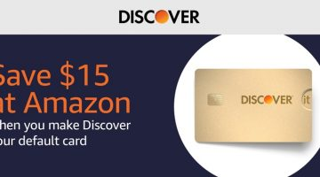 Amazon Discover $15 Off
