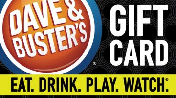 Dave & Buster's Gift Card