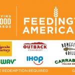 Giving Good Feeding America Swap Gift Card