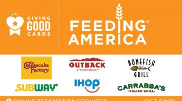 Giving Good Feeding America Swap Gift Card