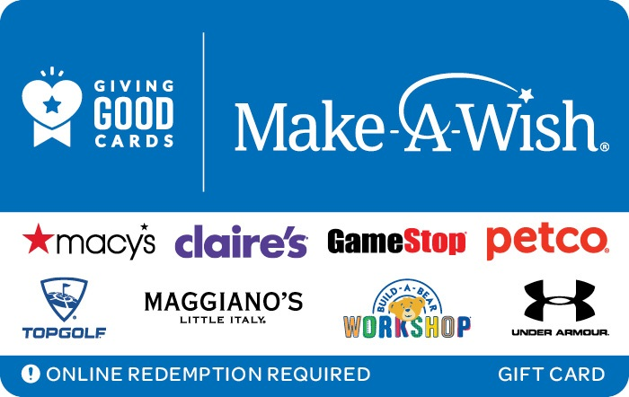 Giving Good Make-A-Wish Swap Gift Card