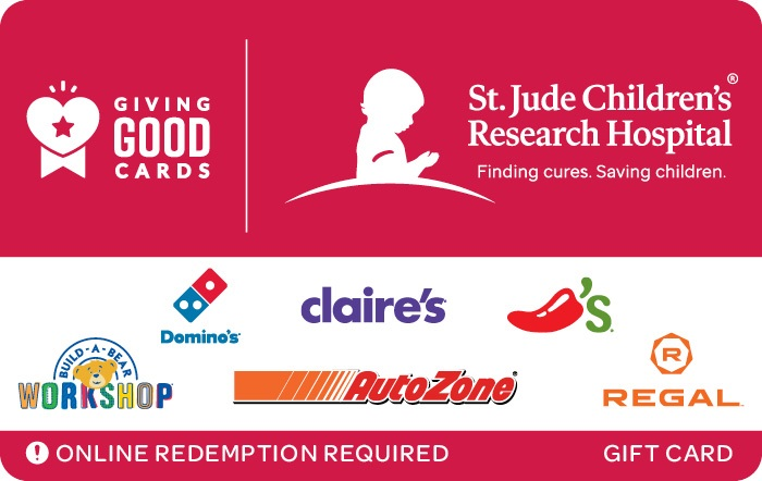 Giving Good St. Jude Children's Research Hospital Swap Gift Card