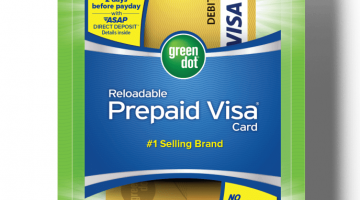 Green Dot Reloadable Visa Debit Card