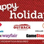 Happy Holidays Swap Gift Card