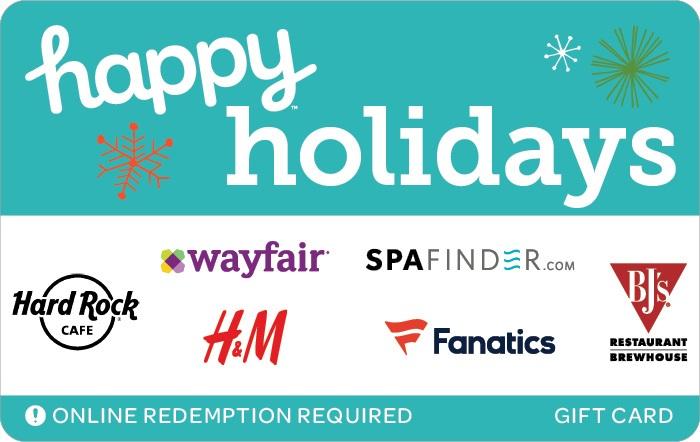 Happy Holidays Swap Gift Card 2