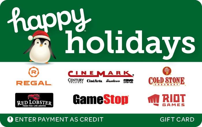Happy Holidays Swap Gift Card 3