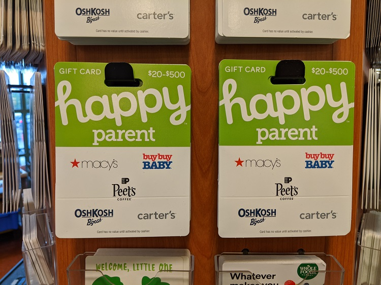 Happy Parent Gift Cards