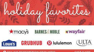 Holiday Favorites Gift Card