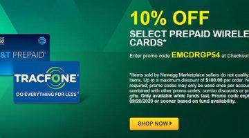 Newegg prepaid EMCDRGP54