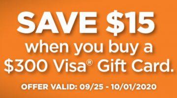 OD OM Online $15 Off $300 VGC