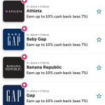 Pay With Ibotta 10% Gap Brands