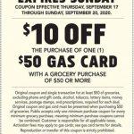 Publix Gas Gift Card 09.19.20
