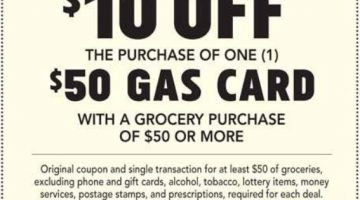 Publix Gas Gift Card 09.19.20