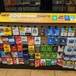 Sheetz Gift Card Rack