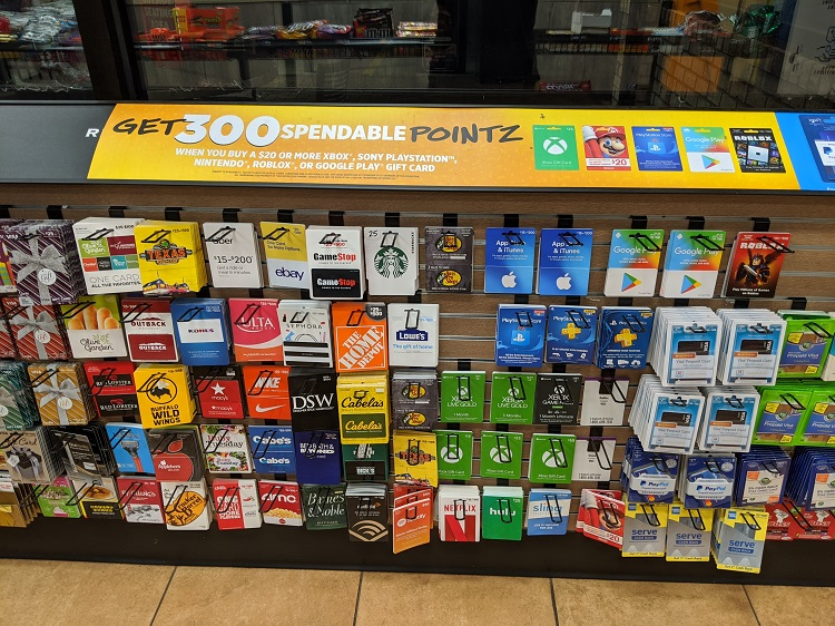 Sheetz: Buy $20 Select Gift Cards Get 300 Pointz (Google Play