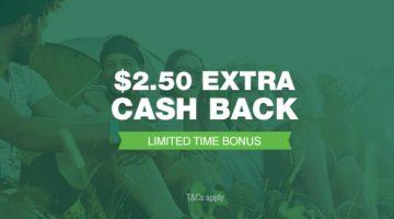 TCB $2.50 bonus