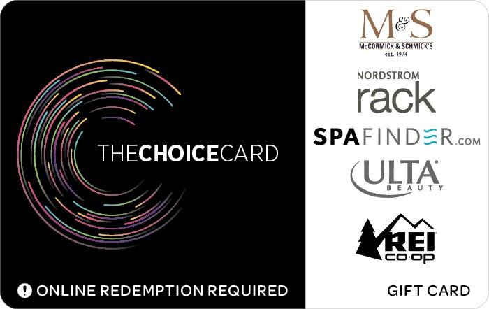 The Choice Card Gift Card
