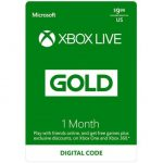 1 Month Xbox Live Gift Card