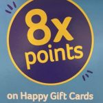 BI-LO 8x Happy Gift Cards