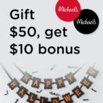 Bitmo Michaels Promo Code MICHAELS10