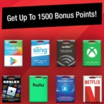 Speedway Gaming Streaming Gift Cards 1,500 Bonus Points