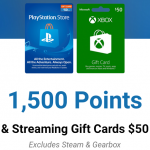 Speedway app gaming gift cards October 2020